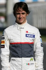 Esteban Gutierrez, third driver, Sauber F1 Team