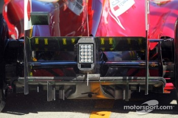 Ferrari Rear diffuser