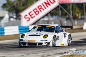#48 Paul Miller Racing Porsche 911 GT3 RSR: Bryce Miller, Sascha Maassen, Rob Bell