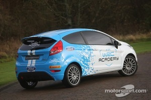 The WRC Academy Ford Fiesta RS