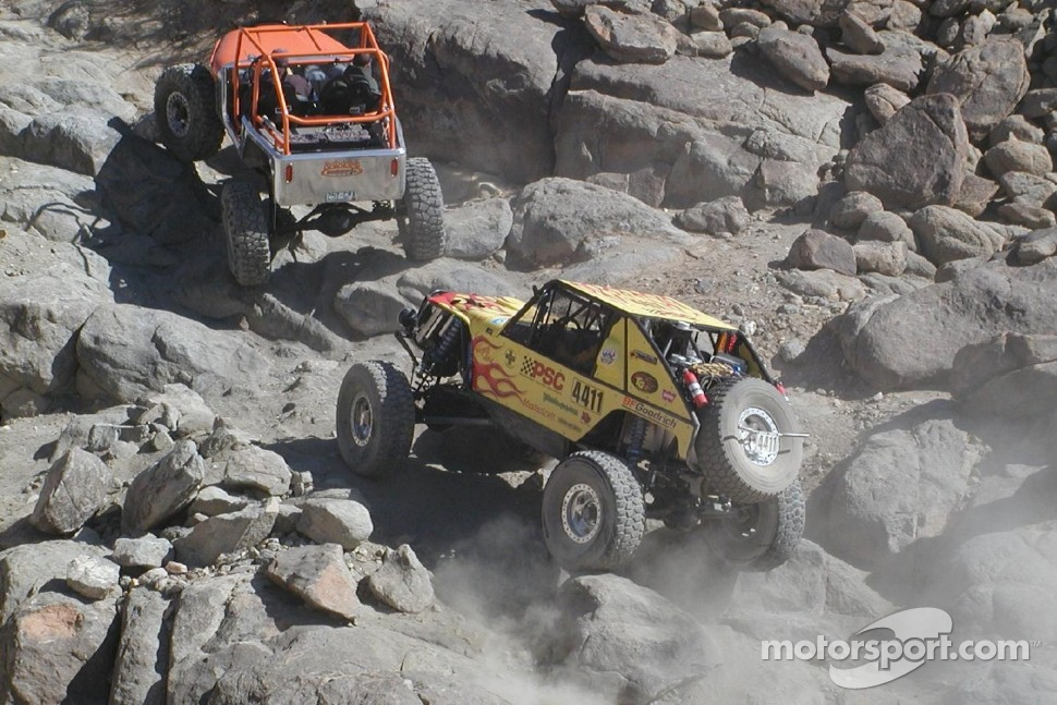 Eric Miller, winner, in his yellow Ultra4