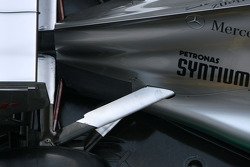 Technical detail, rear suspension