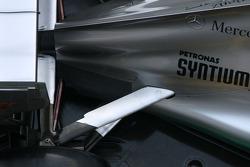 Technical detail, rear suspension