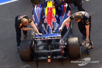 Sebastian Vettel, Red Bull Racing rear wing