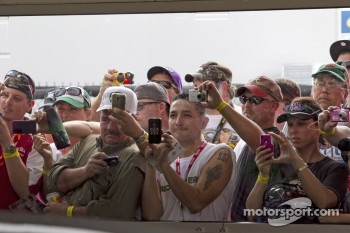 Fans at Daytona