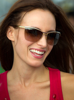 Samantha Sarcinella, wife of Kyle Busch, Joe Gibbs Racing Toyota