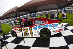 2011 Daytona 500 winning car of Trevor Bayne, Wood Brothers Racing Ford