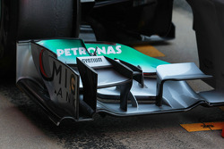 Nico Rosberg, Mercedes AMG Petronas front wing