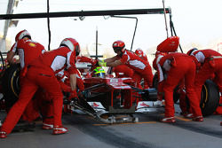 Felipe Massa, Scuderia Ferrari pit stop