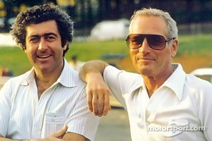Gianpiero Moretti with Paul Newman