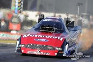 Bob Tasca paced Friday Funny Car quals at Bristol