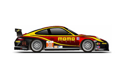 MOMO Porsche livery unveil