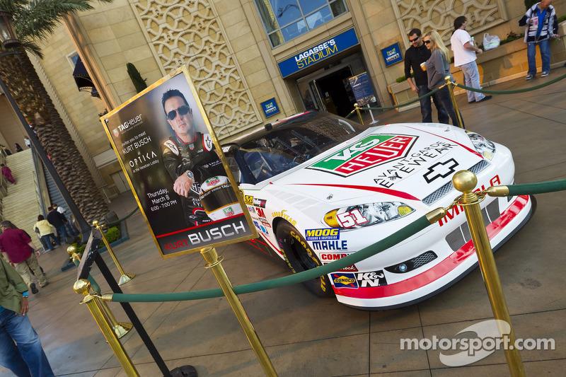 Kurt Busch, Phoenix Racing Chevrolet eyewear event