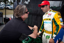Jimmy Vasser and Tony Kanaan, KV Racing Technology Chevrolet