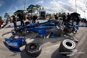 Car of Alex Tagliani, Team Barracuda - BHA Lotus