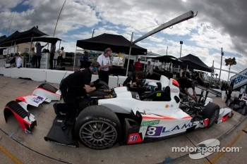 #8 Merchant Services Racing Oreca FLM09: Kyle Marcelli, Lucas Downs, Dean Stirling