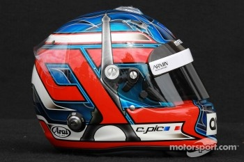 Charles Pic, Marussia F1 Team helmet 