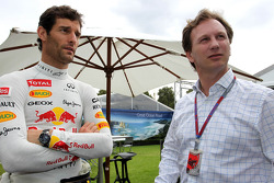 Mark Webber, Red Bull Racing and Christian Horner, Red Bull Racing, Sporting Director
