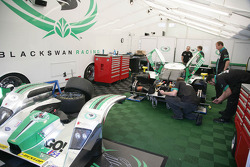 Black Swan Racing team area