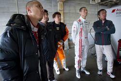 Hideki Noda, Frank Yu and Michael Kim