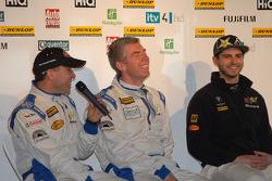 eBay Motors drivers Rob Collard, Nick Foster and Tom Onslow-Cole