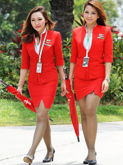Air Asia Stewardesses