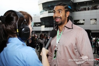 David Haye, Retired Boxer on the grid
