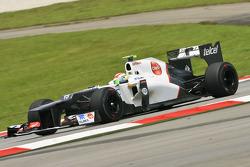 Sergio Perez, Sauber Scuderia Ferrari