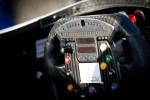 Steering wheel for Rubens Barrichello, KV Racing Technology Chevrolet