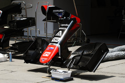 Marussia F1 Team MR01 front wing