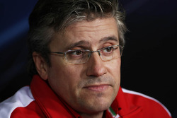 Pat Fry, Scuderia Ferrari Deputy Technical Director and Head of Race Engineering in the FIA Press Conference