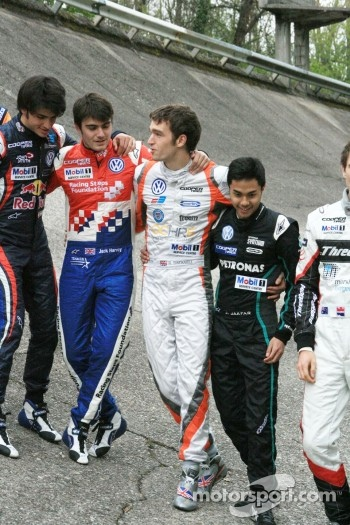 Carlos Sainz Jr., Jack Harvey, Harry Tincknell, Jazeman Jaafar