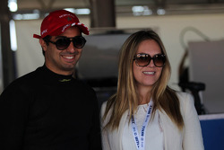 Mehdi Bennani, BMW 320 TC, Proteam Racing and his girlfriend