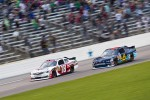 Denny Hamlin, Joe Gibbs Racing Toyota and Ricky Stenhouse Jr., Roush Fenway Ford