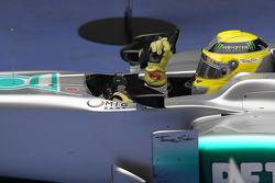 1st place Nico Rosberg, Mercedes AMG Petronas