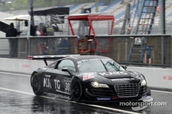 #30 GT3 Racing Audi R8 LMS: Peter Belshaw, Aaron Scott, Craig Wilkins