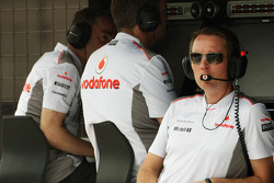 Sam Michael, McLaren Mercedes Sporting Director