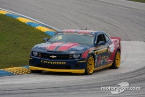 #9 Stevenson Motorsports Camaro GS.R: Matt Bell, Robin Liddell