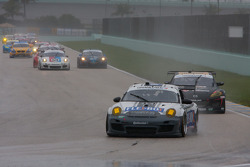 Pace lap for GT