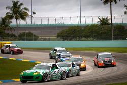 #25 Freedom Autosport Mazda MX-5: Tom Long, Derek Whitis
