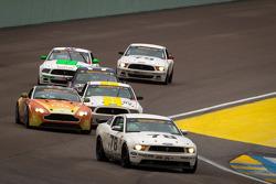 #78 Racers Edge Motorsports Mustang Boss 302R GT: Brad Randall, Steve Randall