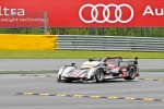 #3 Audi Sport Team Joest Audi R18 Ultra: Romain Dumas, Loic Duval, Marc Gene