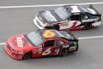 Ricky Stenhouse Jr. and Kurt Busch