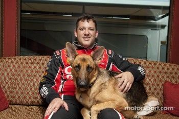 Tony Stewart and Hank
