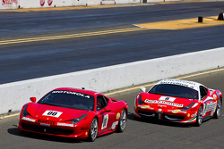 #00 Ferrari of Houston 458TP: Owen Kratz, #8 Ferrari of Ft Lauderdale 458TP
