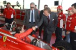 Jacques Villeneuve and Luca di Montezemolo