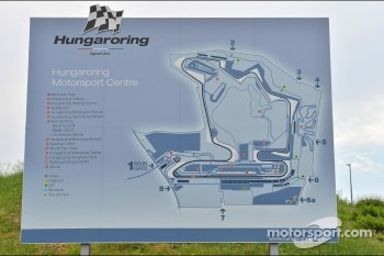 Hungaroring map