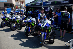 Monster Energy Graves Yamaha Team prepares for SuperBike Race #2