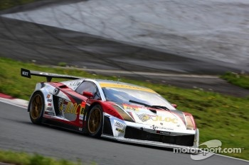 #85 JLOC Lamborghini Gallardo RG-3: Yuya Sakamoto, Masaki Kano, Ryohei Sakaguchi