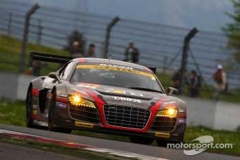 #11 Gainer Audi R8 LMS Ultra: Tetsuya Tanaka, Katsuyuki Hiranaka